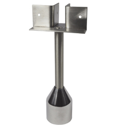 "Adjustable Leg "" T "" Piece  Stainless Steel - SSS"