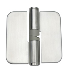 1 x Concealed Fix Gravity Hinge, Stainless Steel.