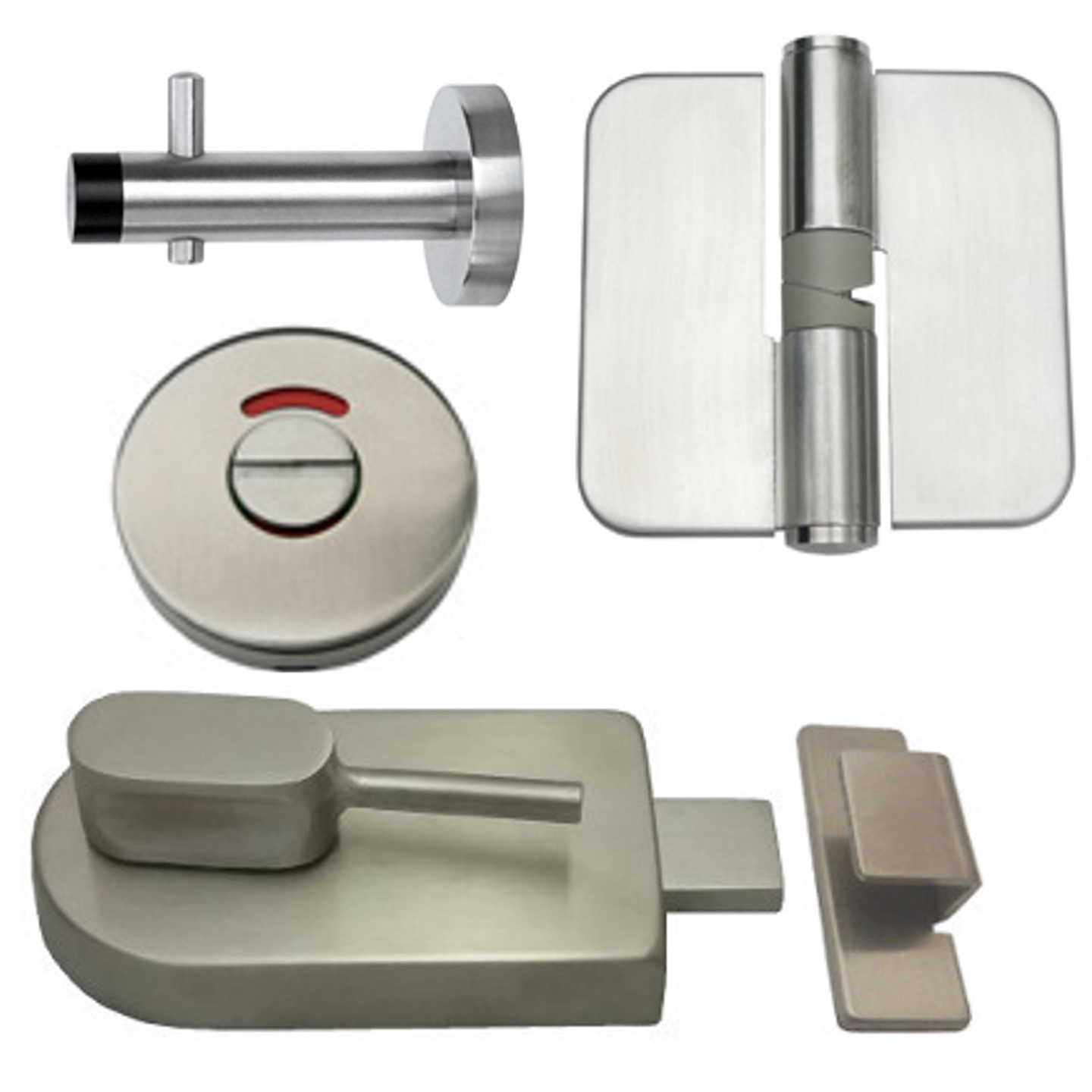 700 Series Ambulant, Sijag HW Sets, (All Stainless Steel).