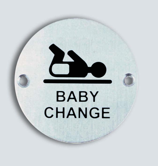 Baby Change Sign R SS