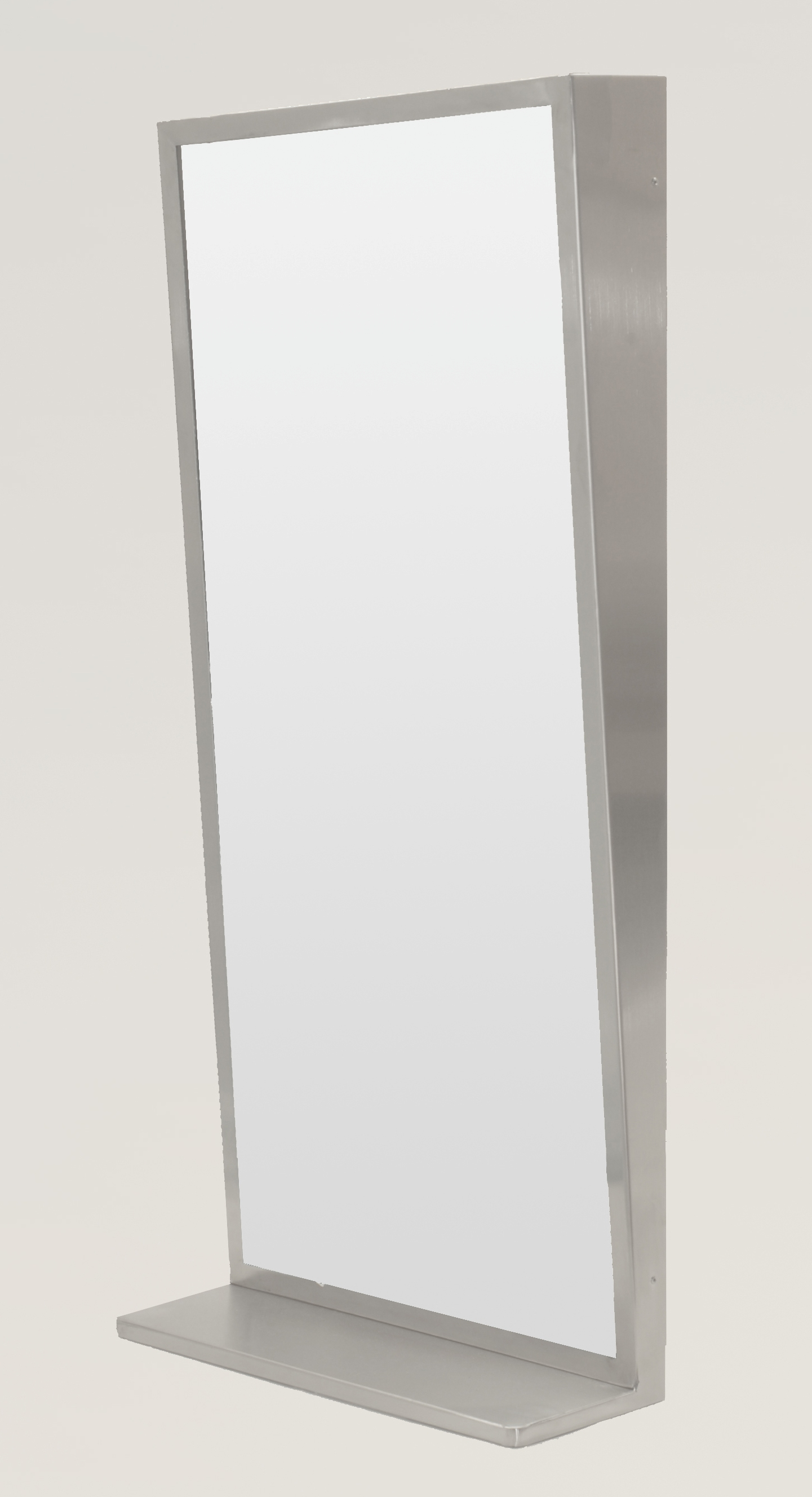 Tilt Mirror with Shelf 450x990
