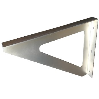 Amazon Vanity 300mm Wide Wall Bracket- Galvanized