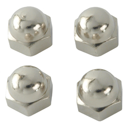 "Dome Nut 1/4"" - Pkt of 2"