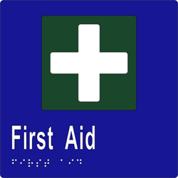 First Aid BRAILLE - SS/Vinyl