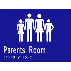 Parents Room BRAILLE - SS/Vinyl
