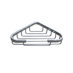 Corner Soap Basket – C/P Brass