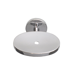 Sturt Series: Soap Holder with Drain Hole - Bright Chrome