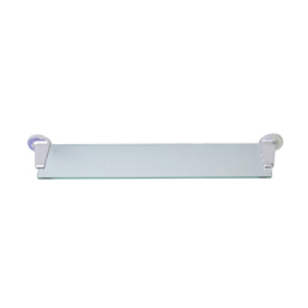 "Sturt Series: Shelf Glass ""Sturt"" - PC White Mounts"