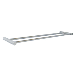 Lawson Series: Towel Bar Double 600mm PSS - Round Mounting