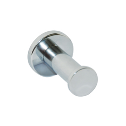 Lachlan Series: Robe Hook - Bright Chrome