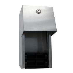 Surface Mounted Dual Roll Toilet Paper Dispenser - SSS