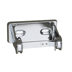 Single Toilet Roll Holder- Chrome Plated Steel