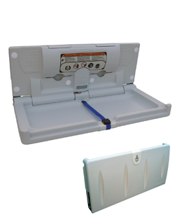 Slimline Horizontal Baby Change Station