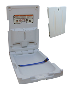 Slimline Vertical Baby Change Station
