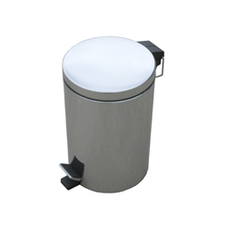 Round Dustbin with foot pedal
