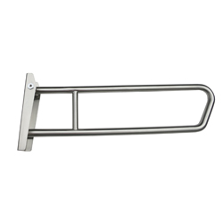 Antimicrobial Click-Lok Pull Down Grab Rail