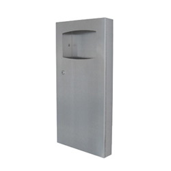 Waste Receptacle Surface Mounted 9 Ltr - SSS